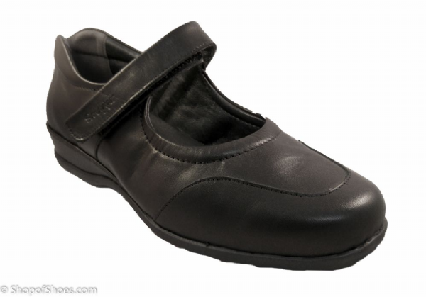 Welton Ladies Extra Wide, easy access Shoe 4E-6E